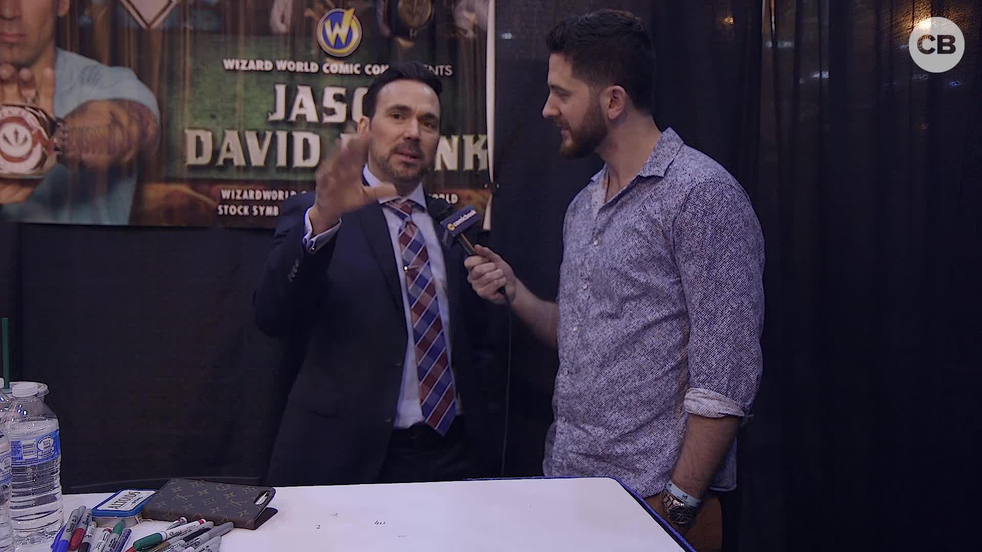 Jason David Frank - Wizard World 2019 Exclusive Interview screen capture