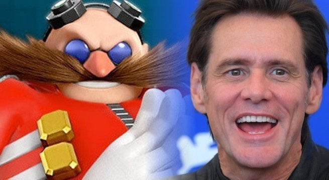 Jim Carrey Name Drops Sonic The Hedgehog Film While Getting Kicked Out Of The Golden Globes