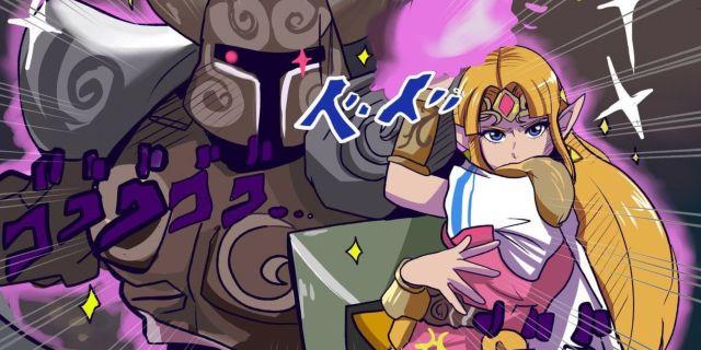 JoJo-Zelda-Smash-Bros-Fan-Art