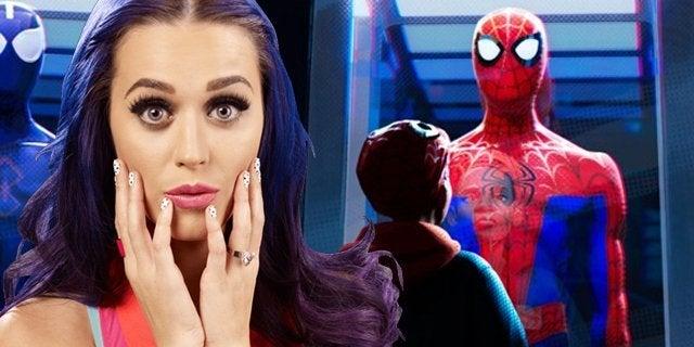 katy perry spider-man into the spider-verse header