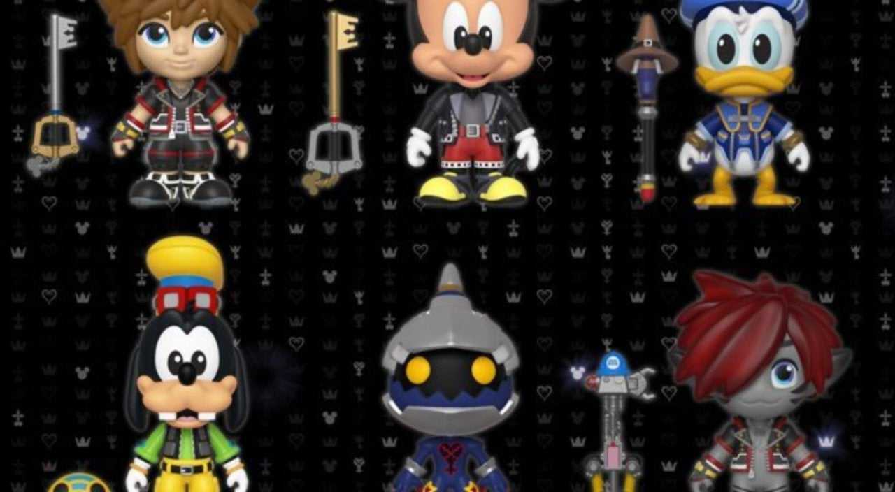 Funko Launches New 'Kingdom Hearts 3' Pop, Vynl, and 5 Star Figures