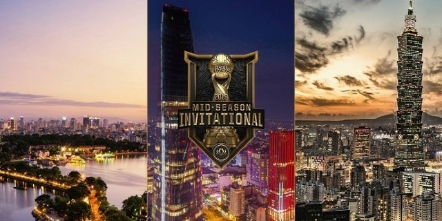 League of Legends MSI 2019