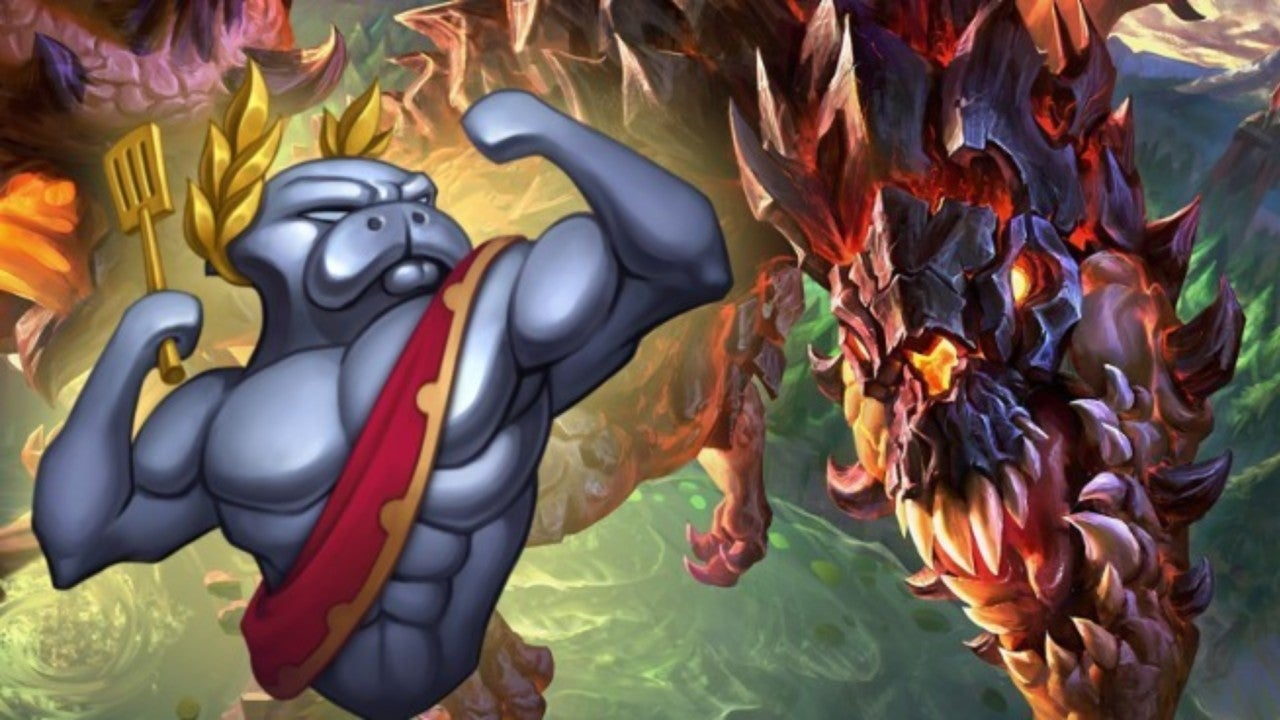 League of Legends' Teases an URF-Themed Dragon
