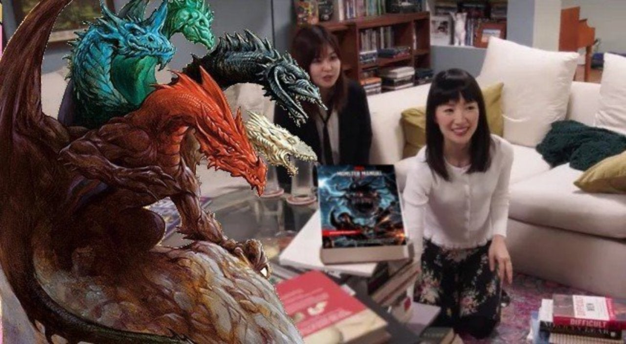 Marie Kondo Needs to Be in Your 'Dungeons Dragons' Campaign