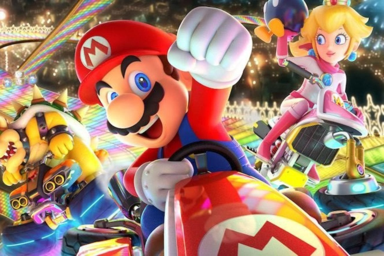 'Mario Kart 8 Deluxe' Got Played On Stadium's Video Screen, and Fans Ran Wild With Comments