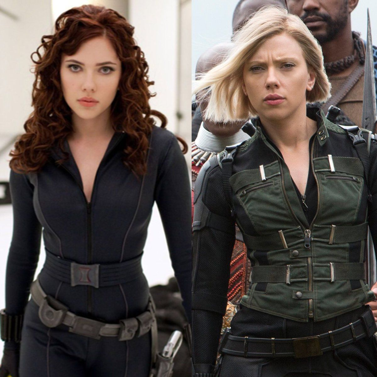 Marvel Cinematic Unvierse 10 Year Challenge - Black Widow