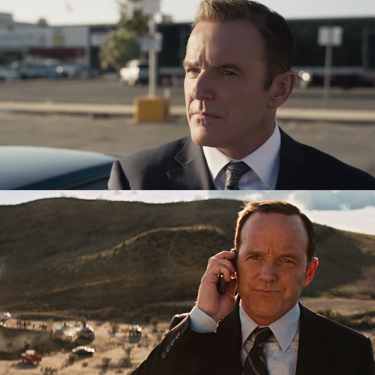 Marvel Cinematic Unvierse 10 Year Challenge - Phil Coulson