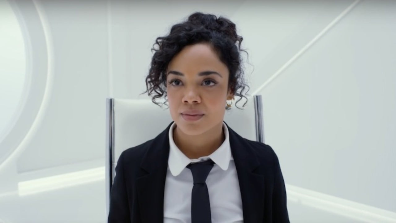 Tessa Thompson Shares Adorable Young Fans Men In Black