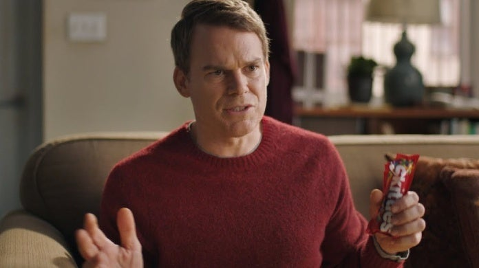 michael c hall skittles commercial the broadway musical