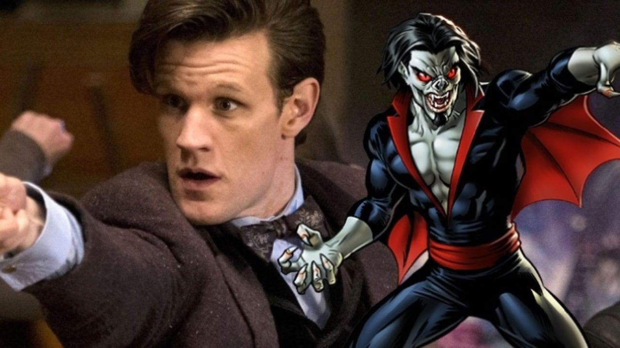 Matt Smith Morbius >> Spider Man Spinoff Morbius First Look At Matt Smith Revealed