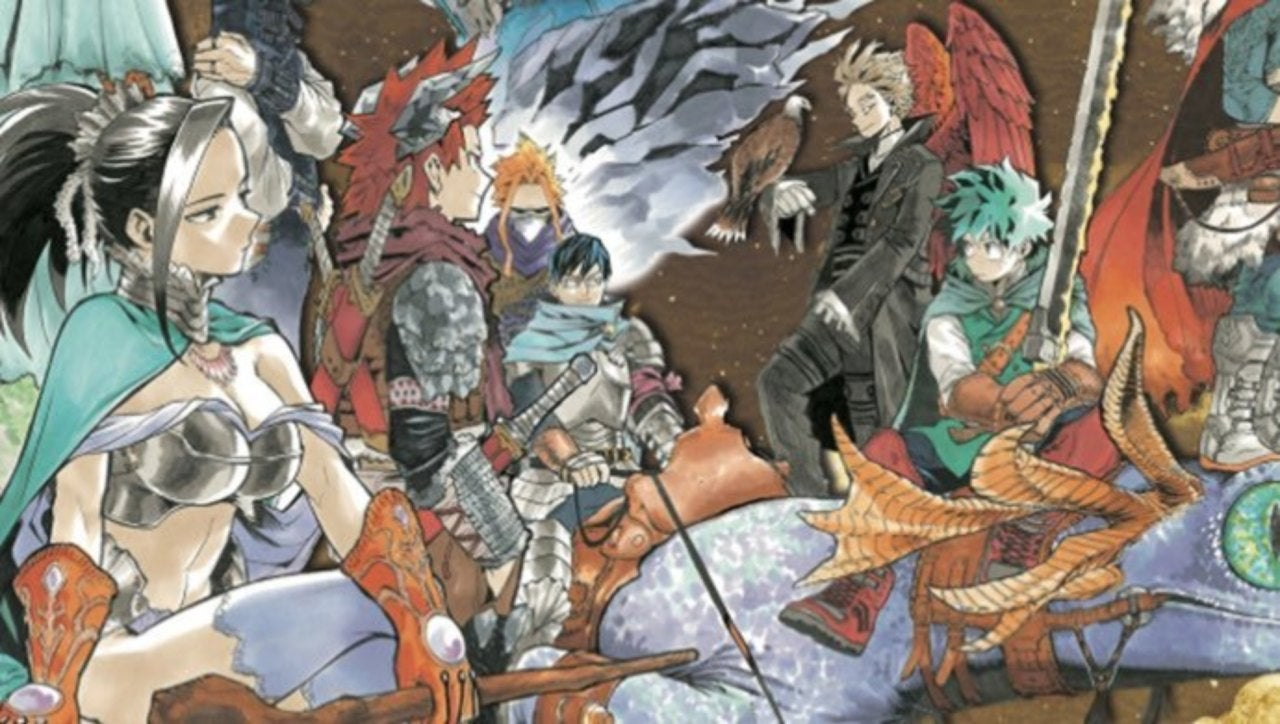 My Hero Academia Fantasy Poster Sparks Big Debate