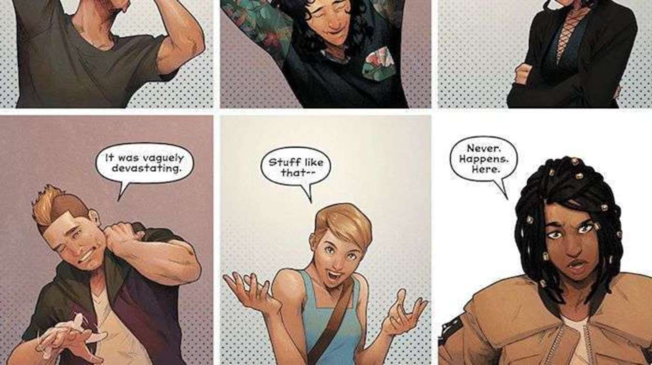 The Most Brian Michael Bendis-y Part of 'Naomi' Did Not Come From Him