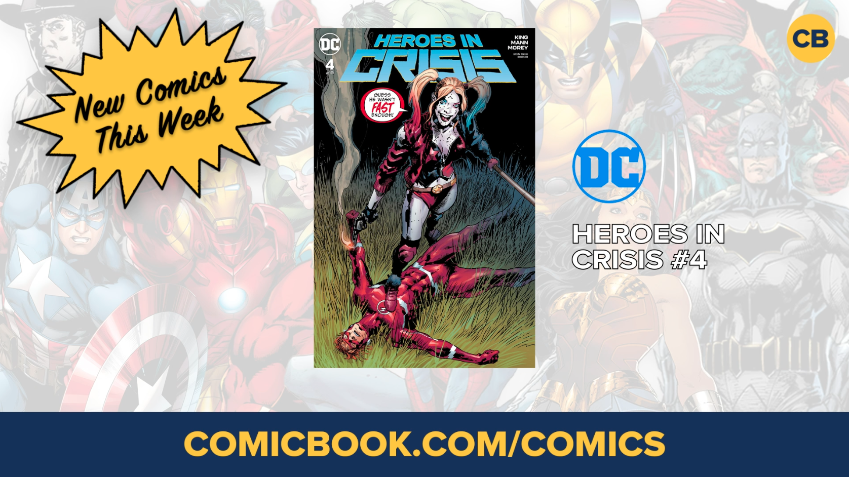 NEW Marvel, DC and Image Comics Out This Week: January 2nd, 2019 screen capture