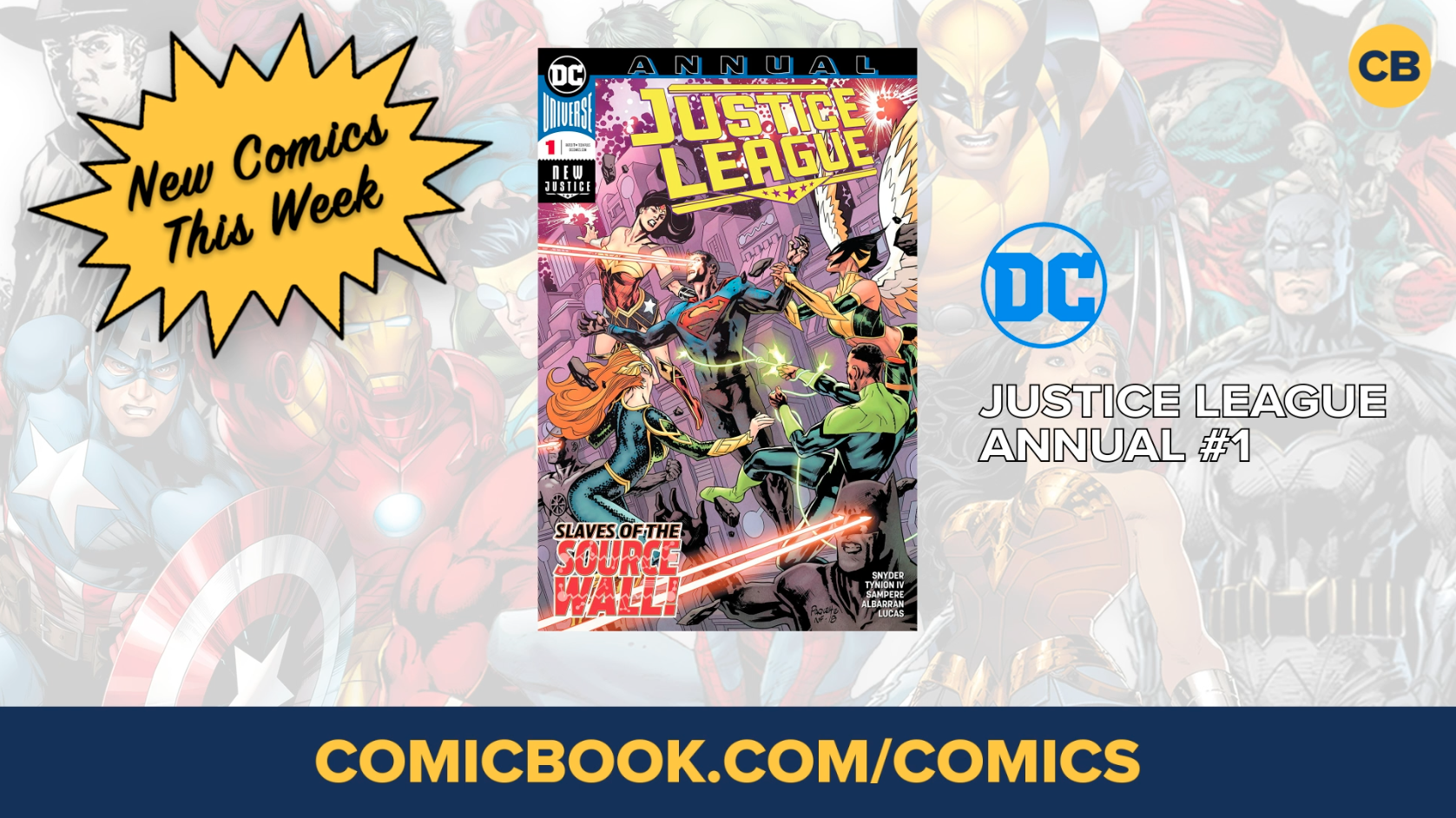 NEW Marvel, DC and Image Comics Out This Week: January 30th, 2019 screen capture
