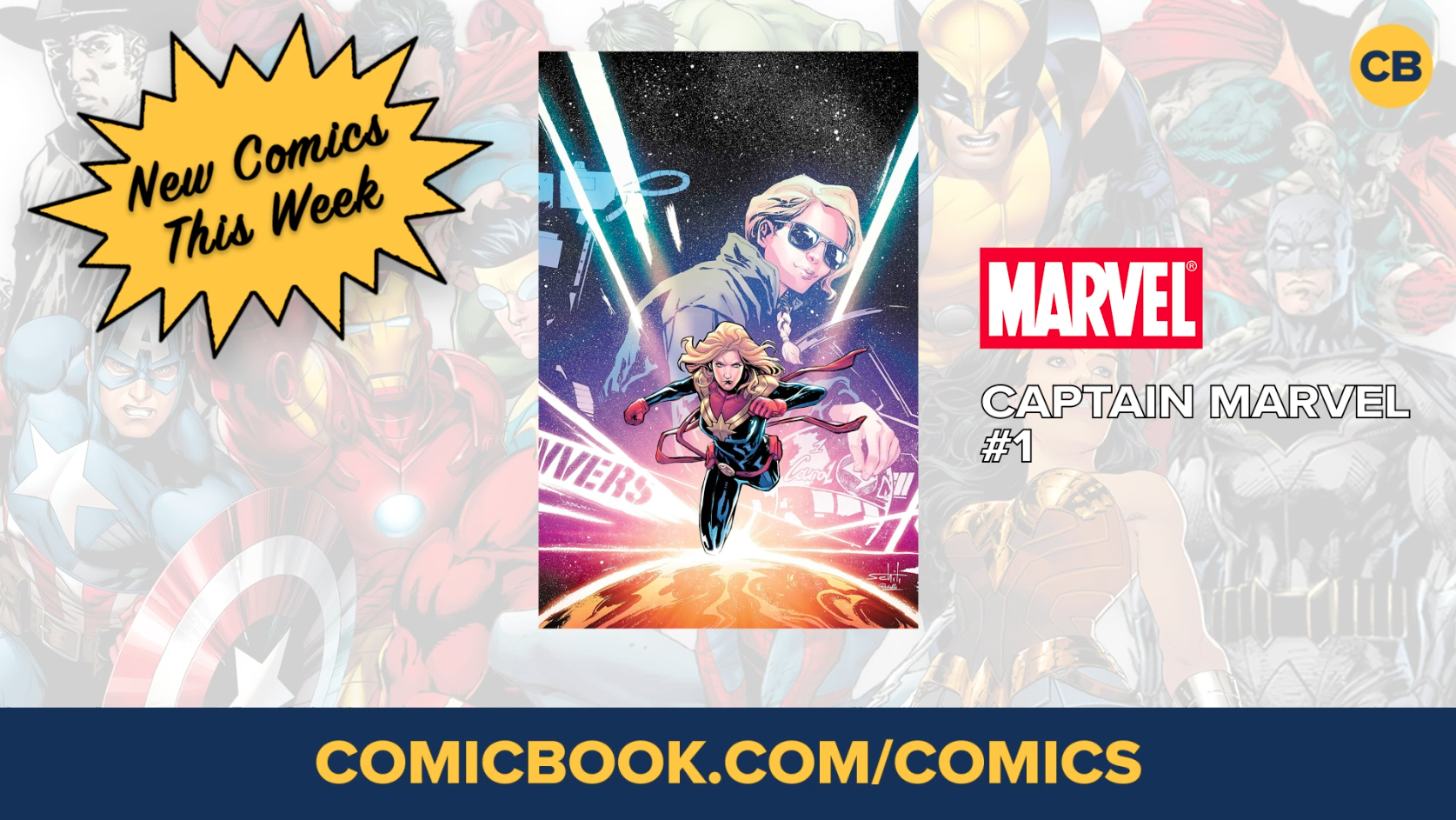 NEW Marvel, DC and Image Comics Out This Week: January 9th, 2019 screen capture