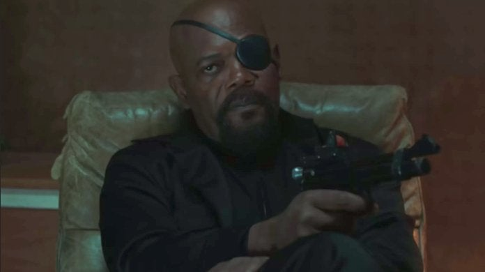 Nick Fury Spider-Man Far From Home