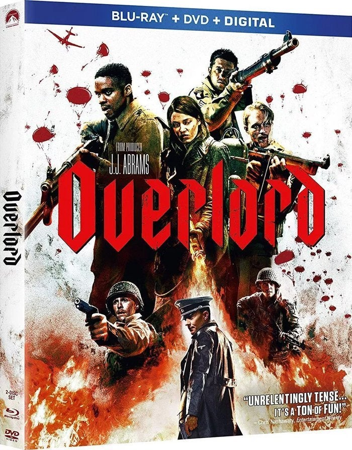 overlord movie blu ray