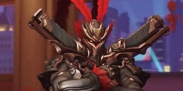 Overwatch Reaper Lunar New Year