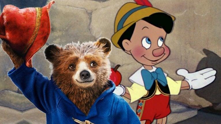 Pinocchio Paddington comicbookcom