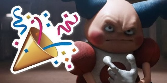 Detective Pikachu Celebrates New Year S With Mr Mime Meme