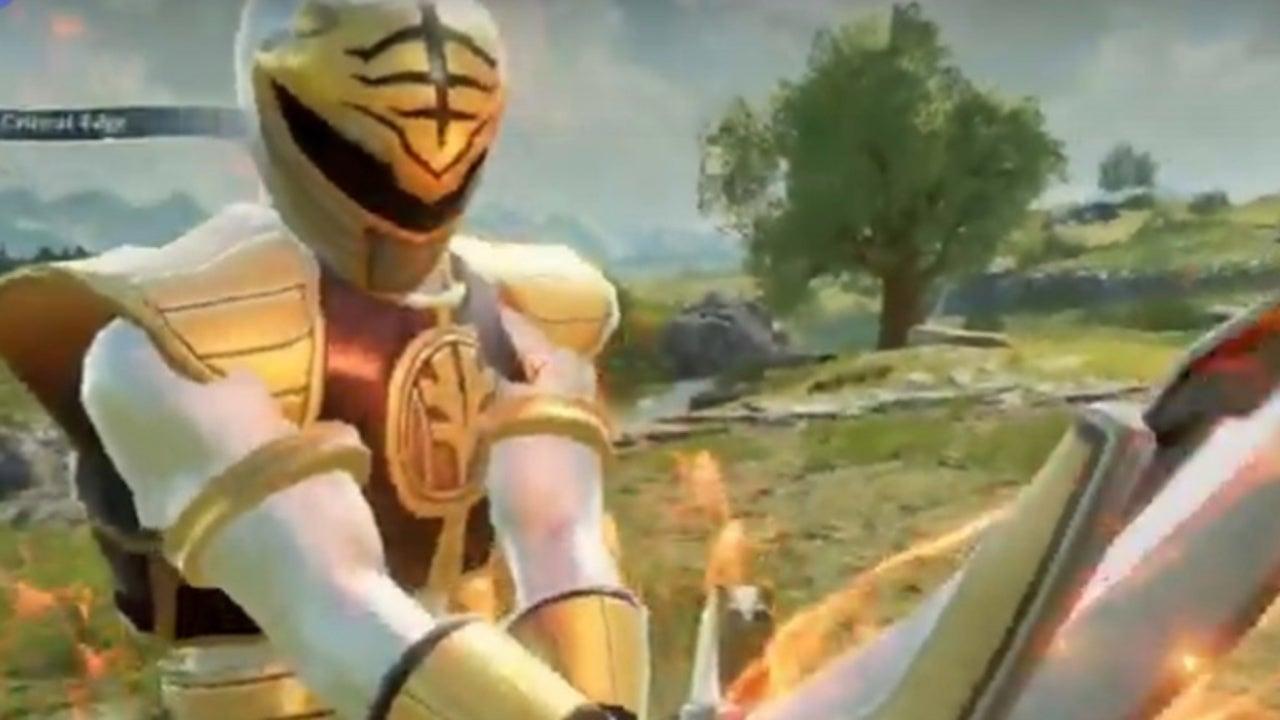 Power Rangers Mod Brings White Ranger Into 'Soulcalibur VI'
