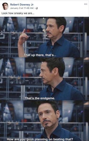 Robert Downey Jr Reveals How Sneaky Marvel Was Over Avengers