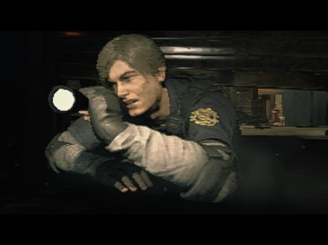 Resident Evil 2' Remake Looks Like A PS1 Game On Its Lowest