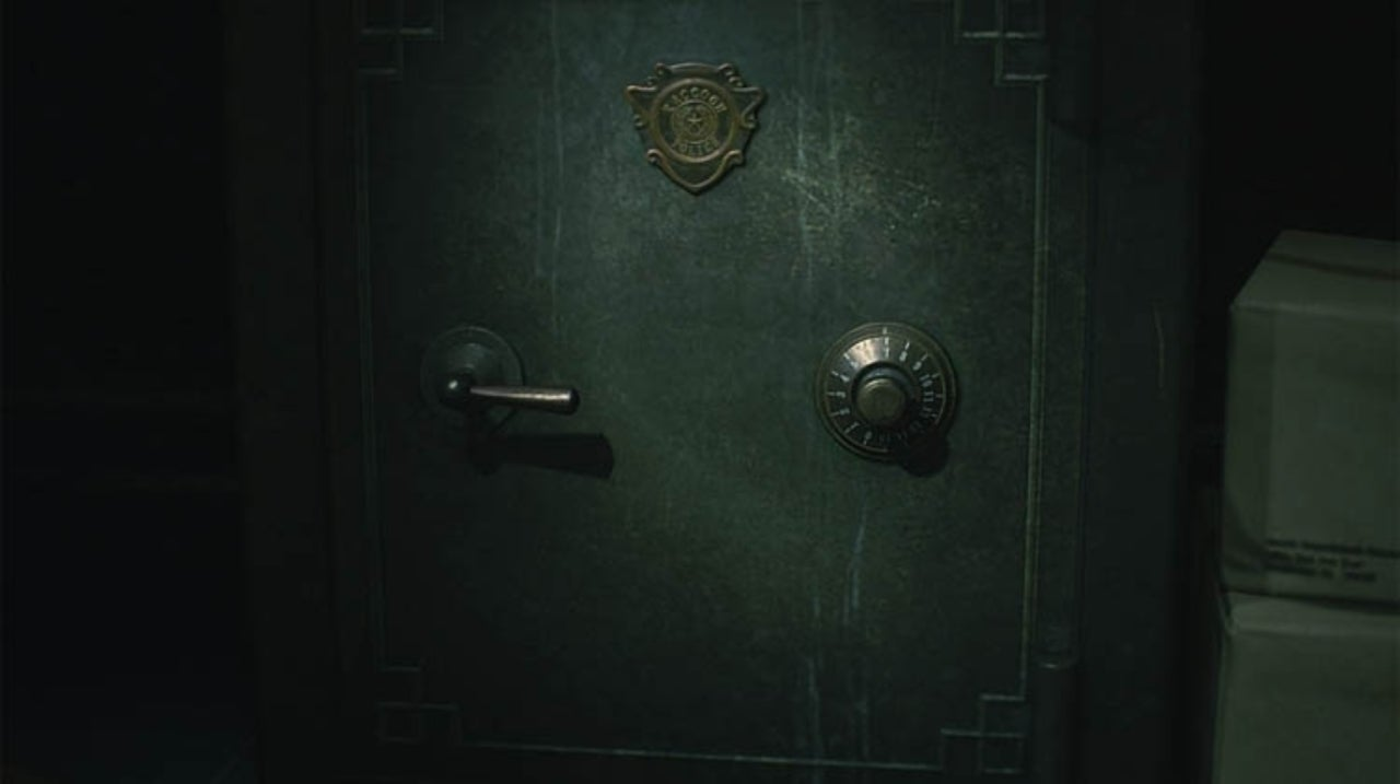 Resident Evil 2 Every Safe Code Combination