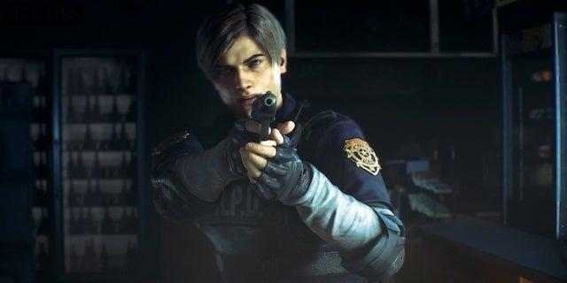 resident evil 2 cop
