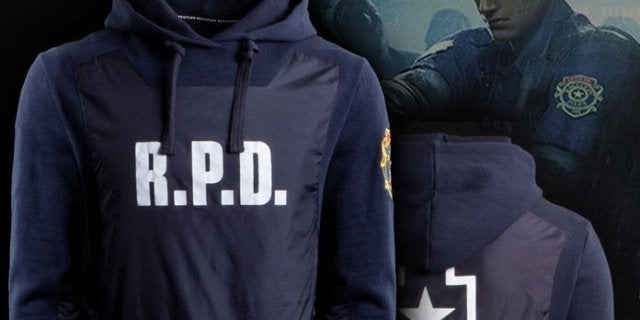 Official 'Resident Evil 2' R.P.D. Hoodie and Shirt Revealed
