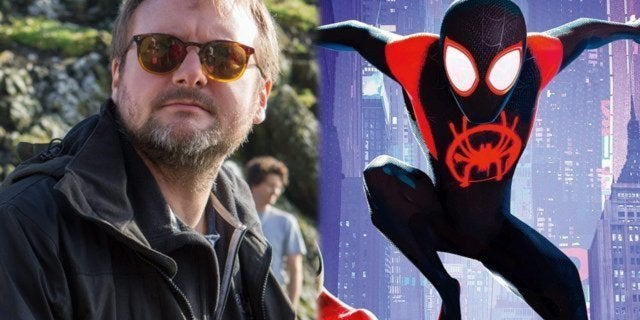 rian johnson into the spider verse spider-man