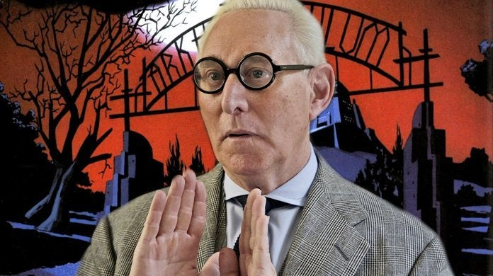 roger stone indictment arkham asylum batman