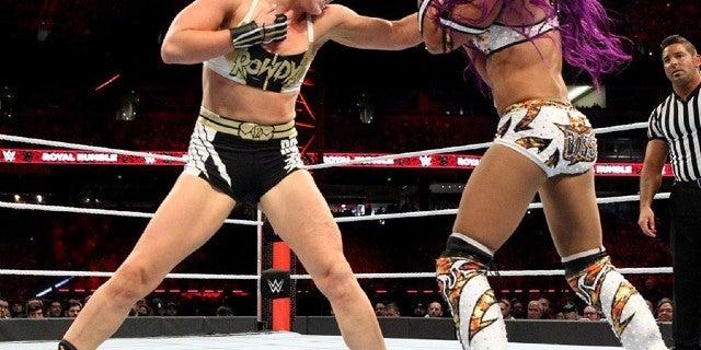 Ronda-Rousey-White-Ranger-Gear-Sasha-Banks