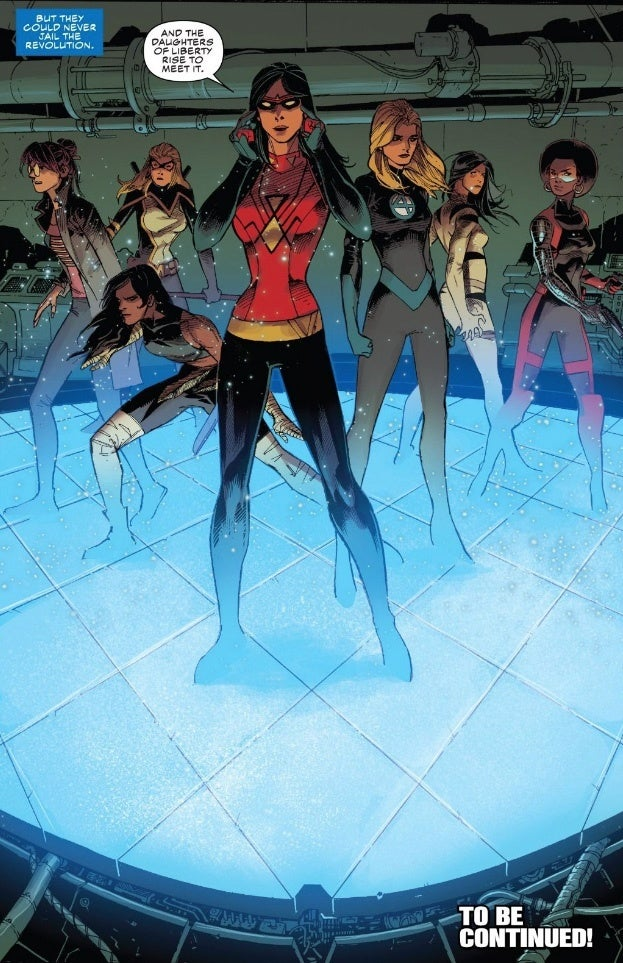 Sharon Carter Assembles New Daughters Of Liberty Led By