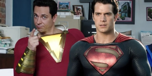 shazam man of steel superman easter egg