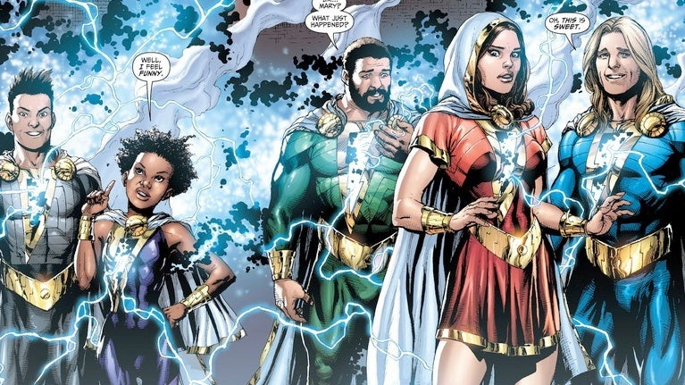 Shazam-Marvel-Family