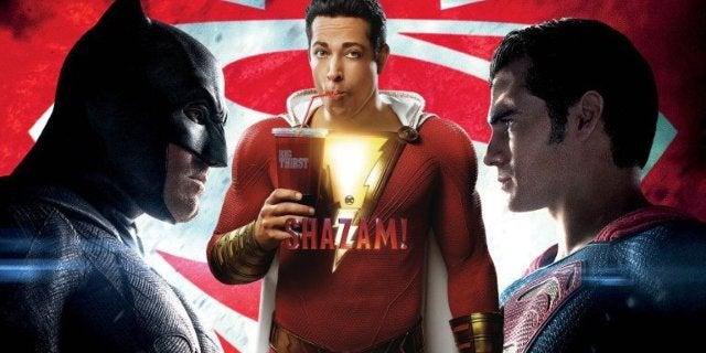 Shazam Trailer Batman Superman