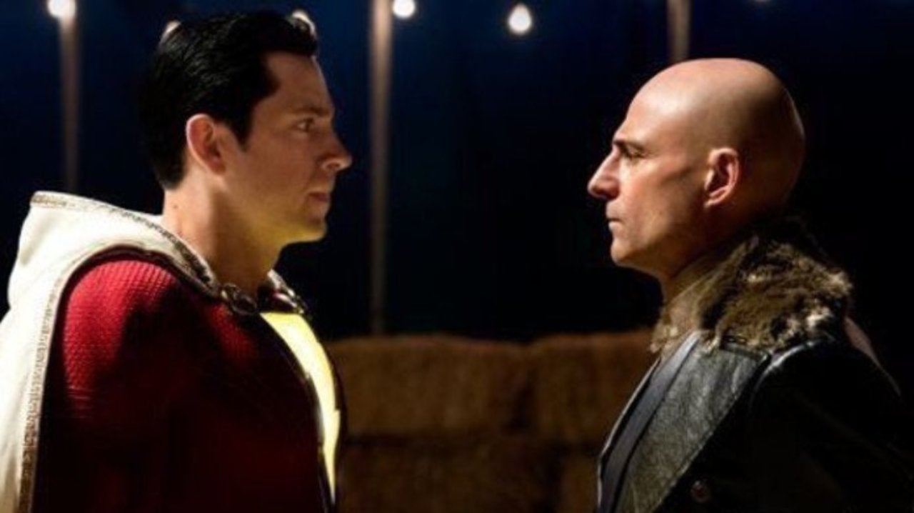 Image result for We don't have any more footage of Shazam since he dies so early in the film. In hindsight that bold decision may have been a mistake.