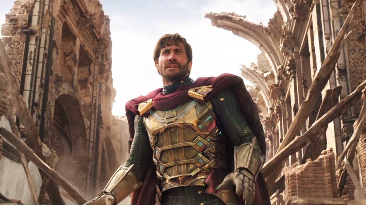 spider-man far from home jake gyllenhaal mysterio