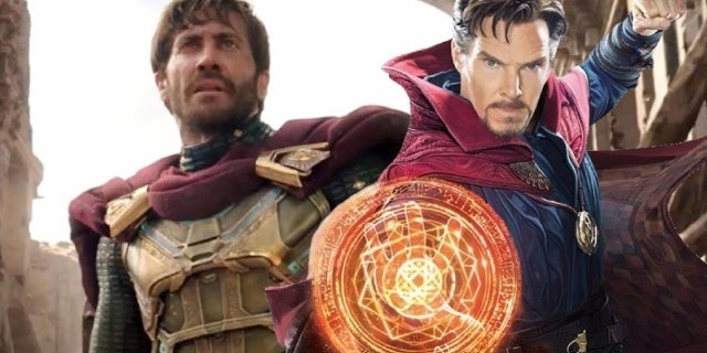 spider man far from home mysterio doctor strange