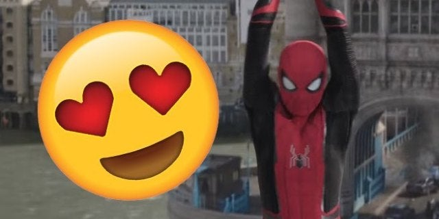 spider man far from home react