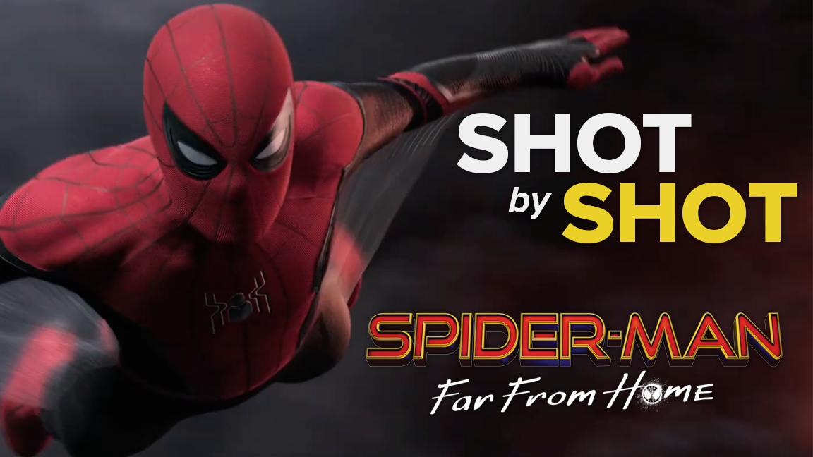 Spider-Man: Far From Home - Shot By Shot Breakdown screen capture