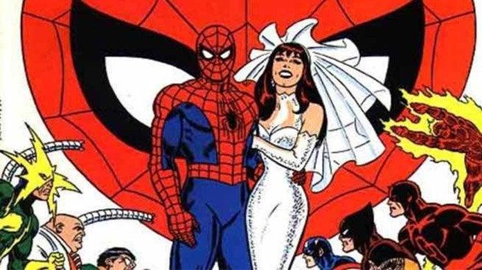spider-man wedding