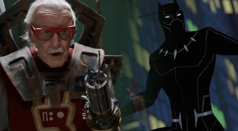 stan-lee-black-panther-animated