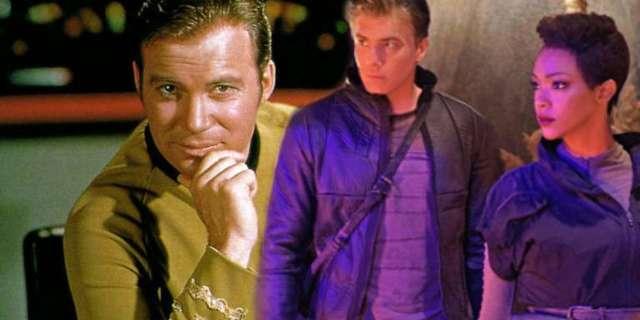 Star Trek Discovery Pike Kirk
