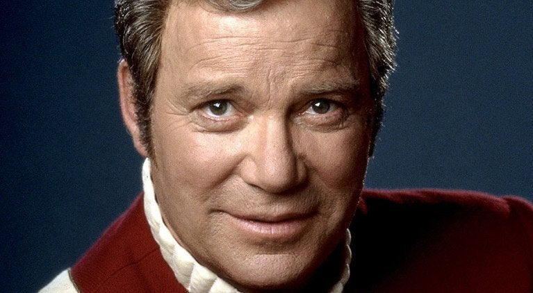 star trek kirk william shatner