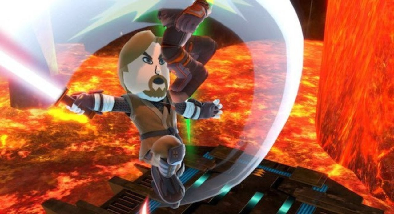 Star Wars Revenge Of The Sith Scene Recreated In Super Smash Bros Ultimate