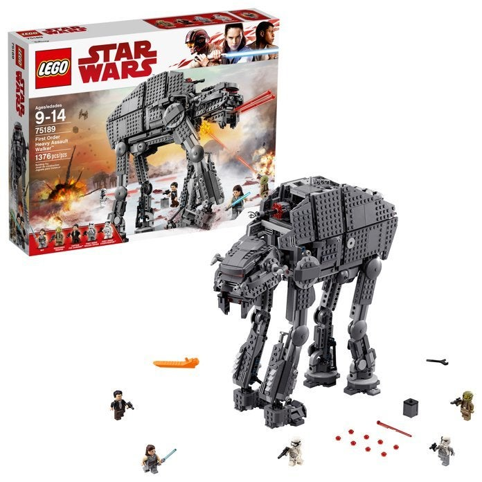 Save $40 On this Huge 'Star Wars' Heavy Assault Walker LEGO Set