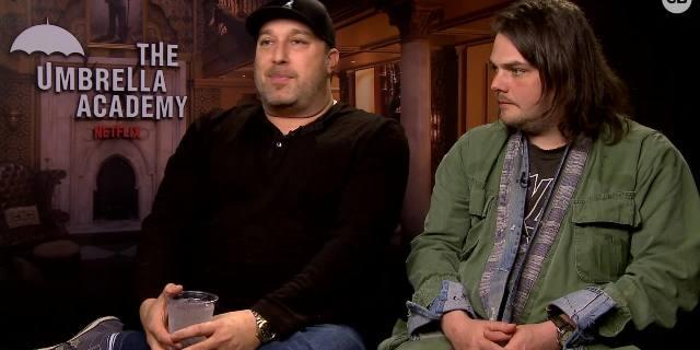 Steve Blackman and Gerard Way Talk 'The Umbrella Academy' screen capture