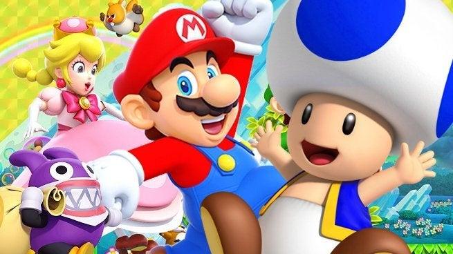 Super Mario Bros U Deluxe Blue Toad